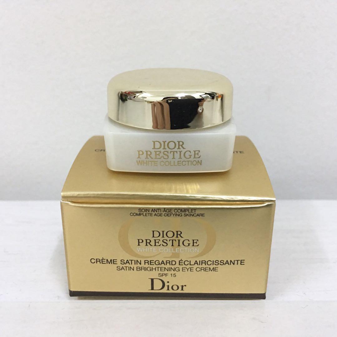 💯 Dior Prestige Satin Brightening Eye Crreme