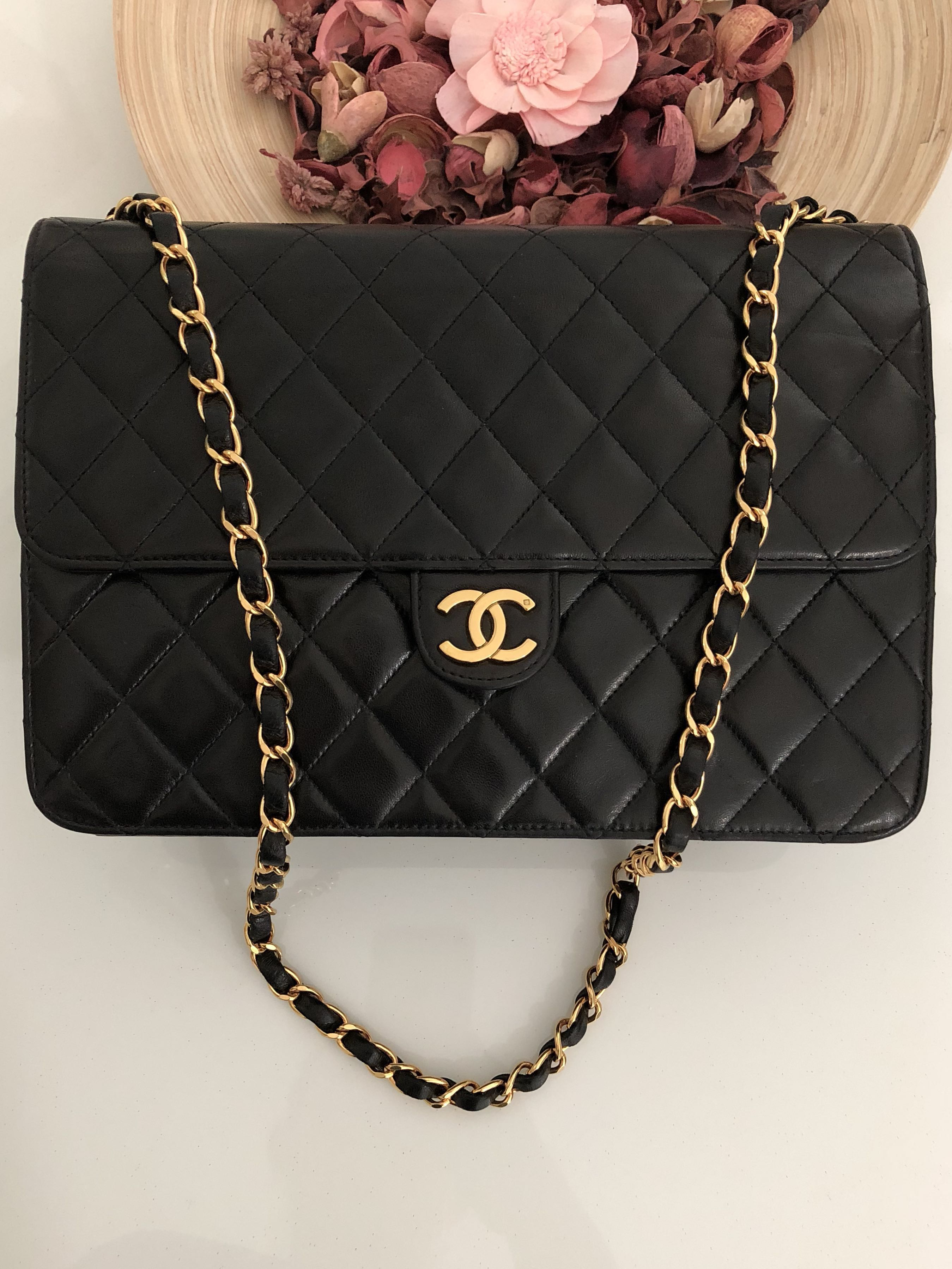 """reasonably priced shop for authentic fashion style Sold On Installment ) CHANEL 10"""" ( 25cm ) MEDIUM Classic ..."""
