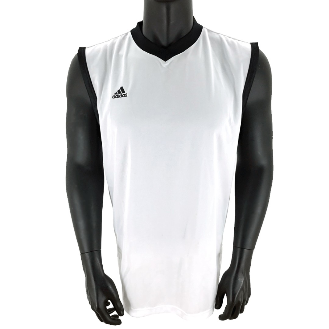 promo code cd1b5 4475b Adidas Basketball Jerseys - Oncourt Range 2 White/ Black ...