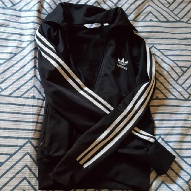 Authentic Adidas 3 Stripe Track Jacket