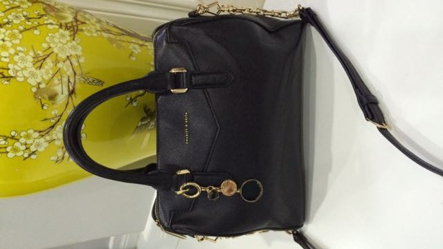 Authentic Charles And Keith 2 Way