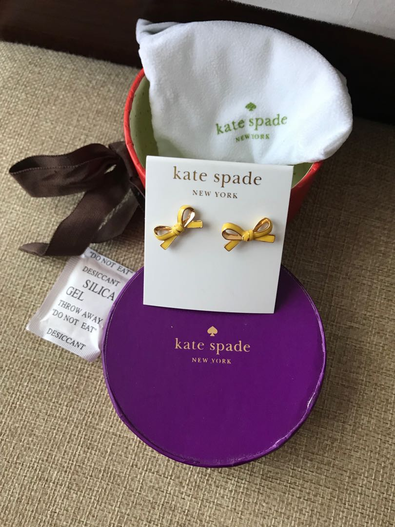 Authentic Kate Spade Bow Earing