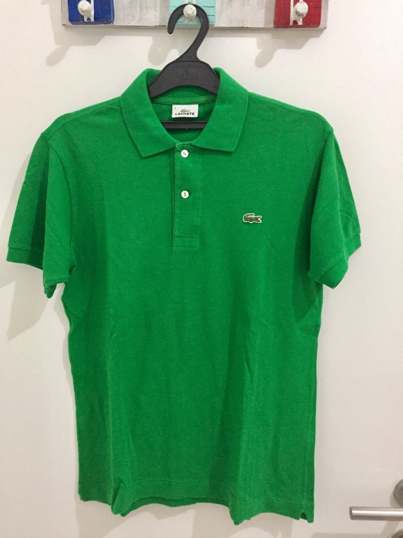 Authentic Lacoste Green Size 3/S