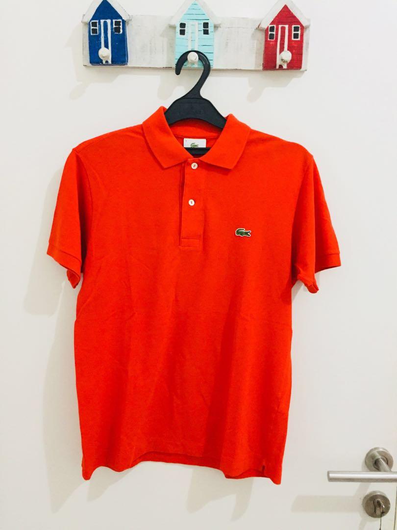 Authentic Lacoste Orange Size 3 / S