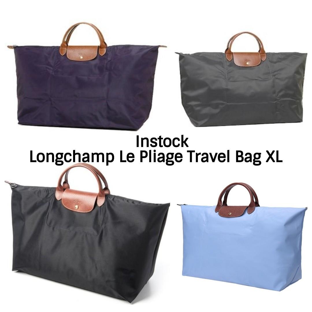 1364e9261bc3 Authentic Longchamp Le Pliage 1625 XL Travel Handbag, Luxury, Bags ...