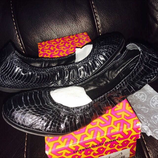 Authentic Tory Burch Eddie Ballet Flats