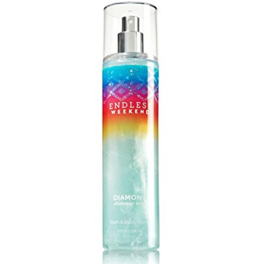 Bath & Body Works - Diamond Shimmer Mist
