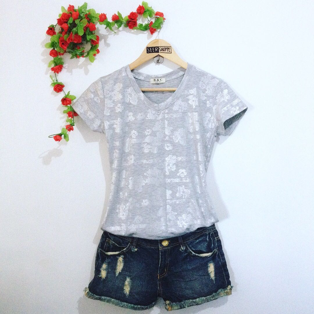 B&C Fitted Blouse