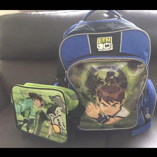 Ben10 Backpack Set