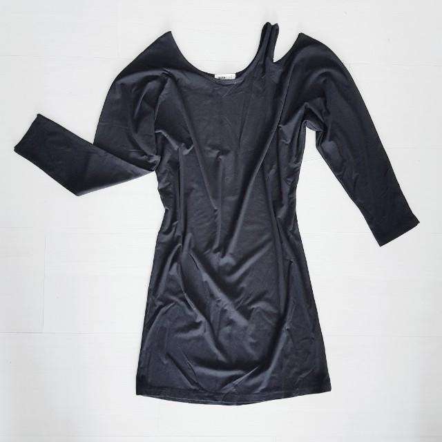 #Fesyen50 Black Dress Bodycon