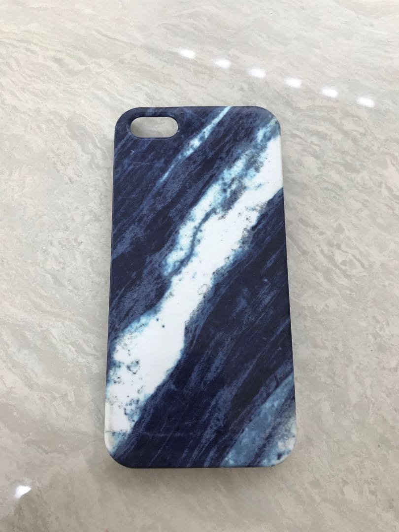 Blue marble iph 5 case
