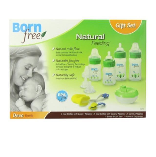 Born free Naturals Gift Set