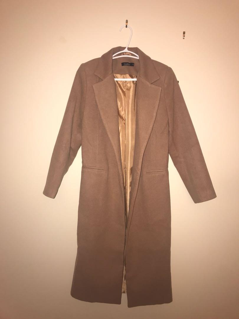 Brand new camel coat