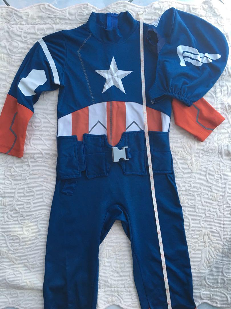 Captain America Marvel Costume