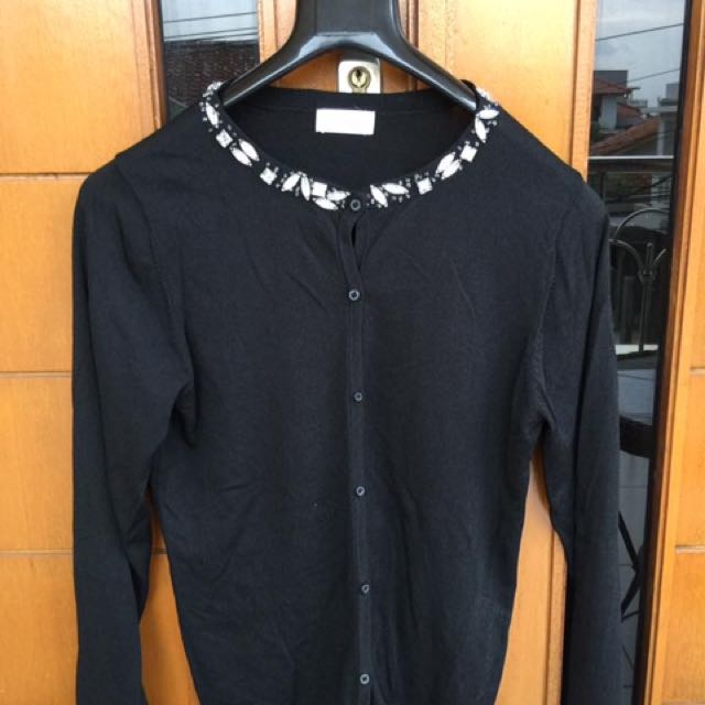 Cardigan black blink