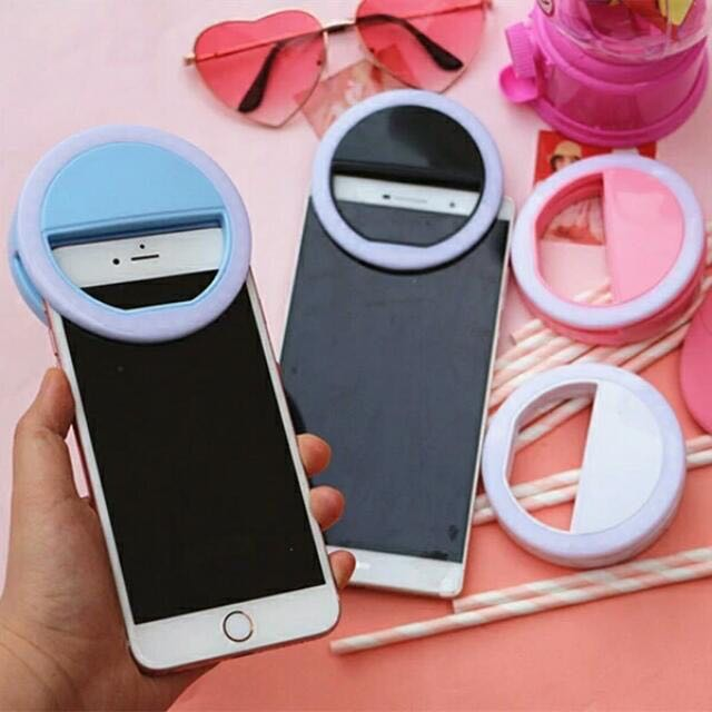CLEARANCE ! Ready stock Rechargeable LED Selfie Ring Light