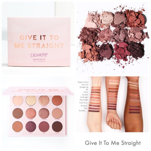 Colourpop Give it to me straight 眼影盤