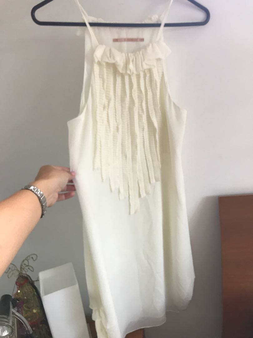 Cooper St Cream dress Size 10