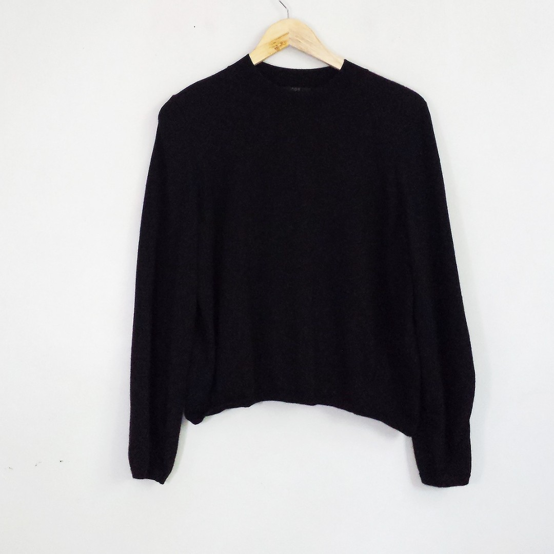 [RESERVED] COS Black Sweater Top Pullover