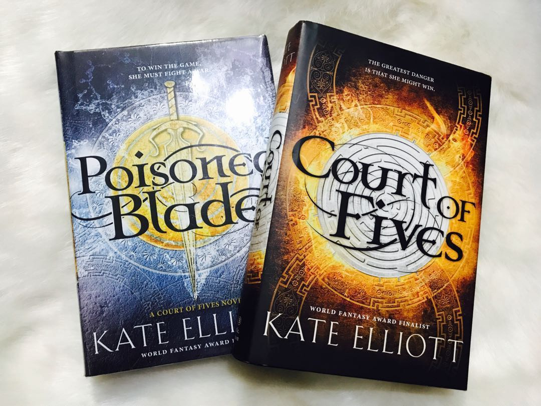 Court of Fives and Poisoned Blade by Kate Elliott