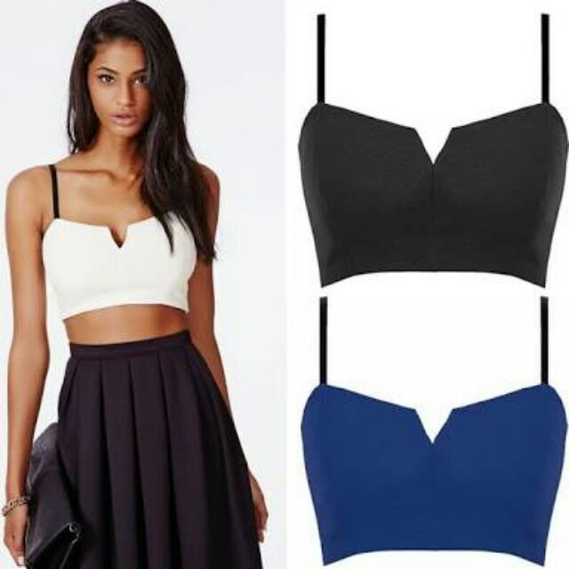 crop top(blue color only)
