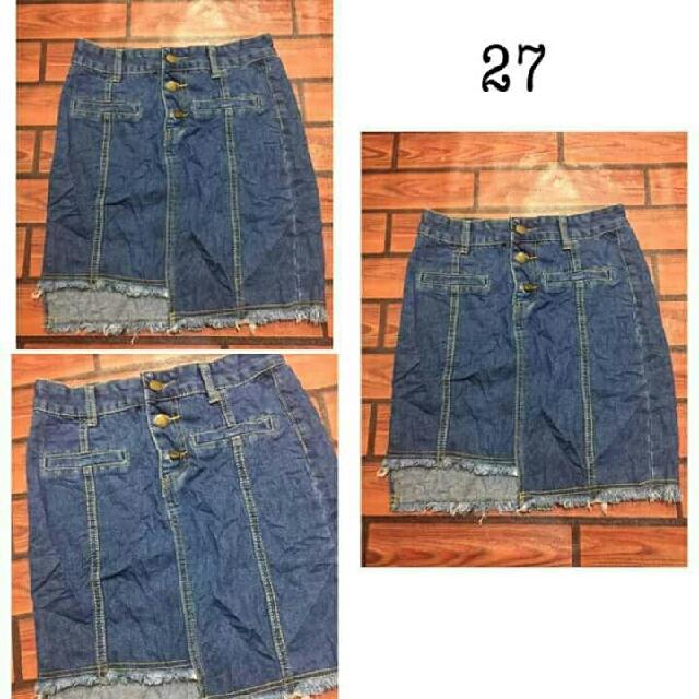 Denim Skirt size 27
