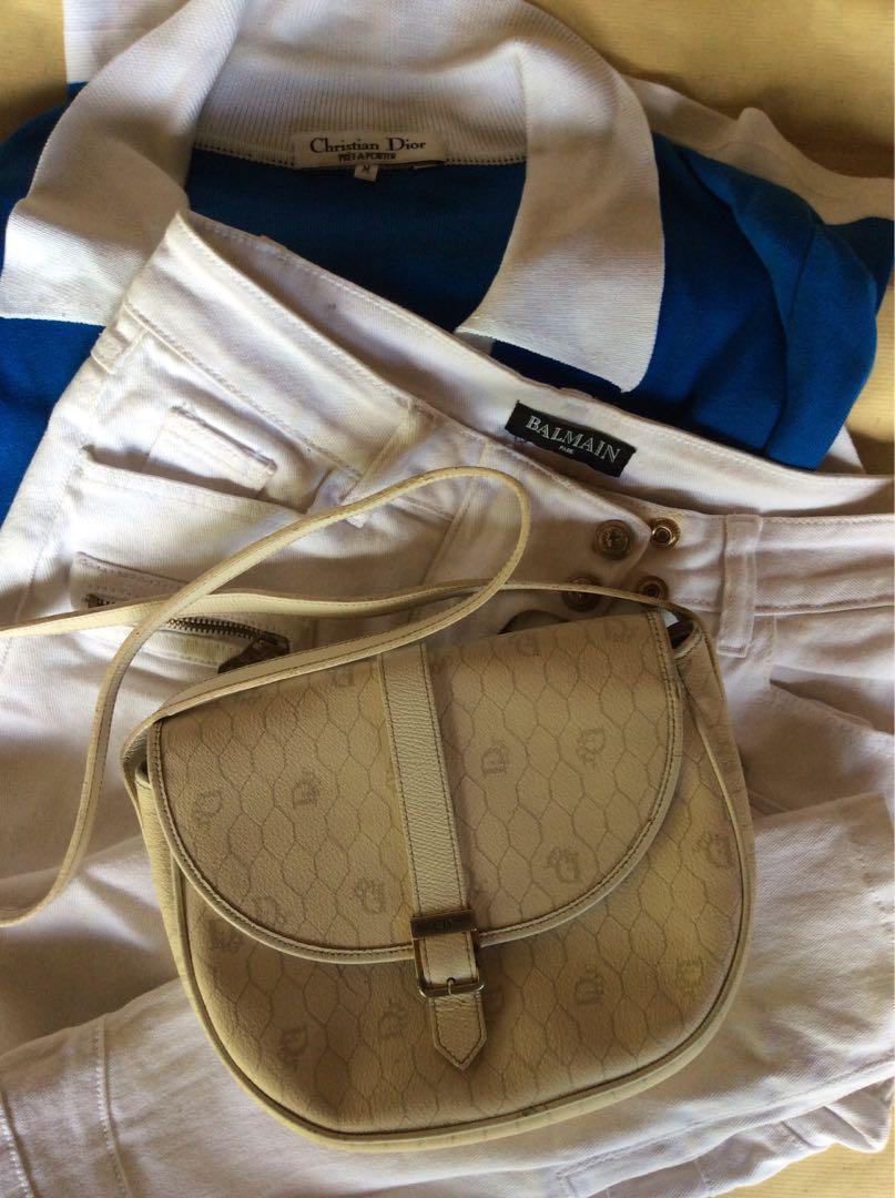 Dior Christian Signature Sling Bag