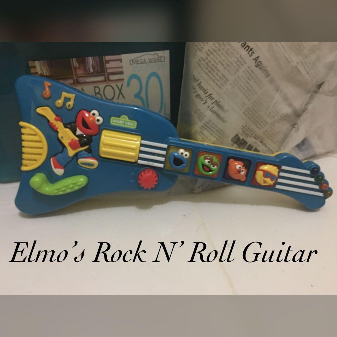 elmo's rock n' roll guitar