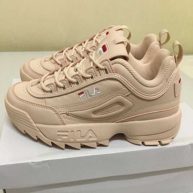 fila disruptor 2 mens orange