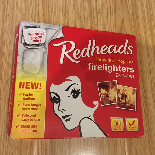 firelighter redheads