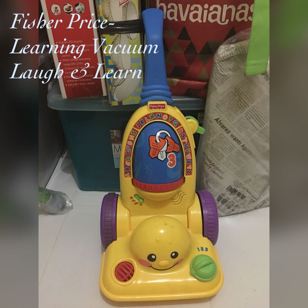 fisher price learning vacuum