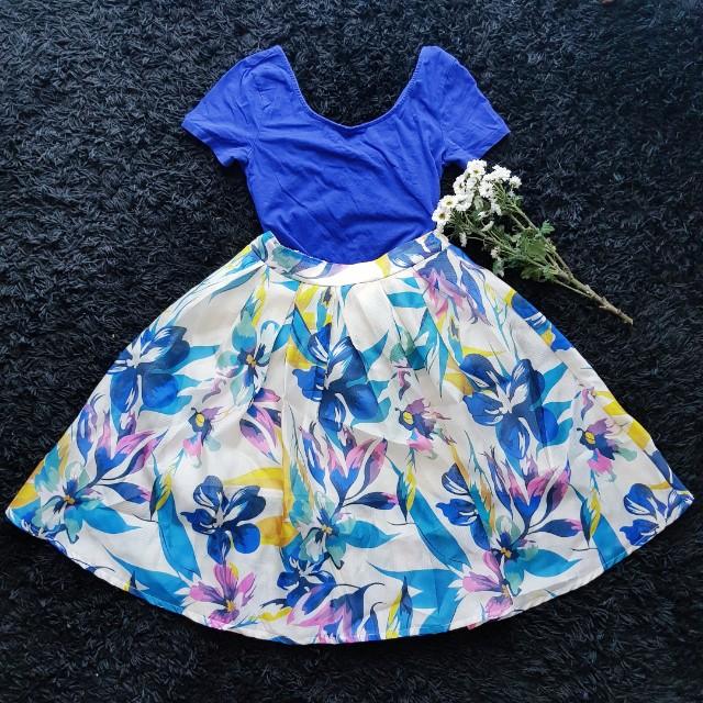 #Fesyen50 Flora Flare Skirt