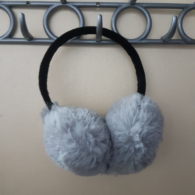 Gray Earmuffs