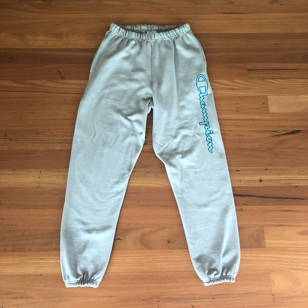 Green Champion Tracksuit Pants