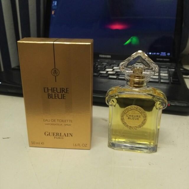 Guerlain paris l'heure bleue perfume