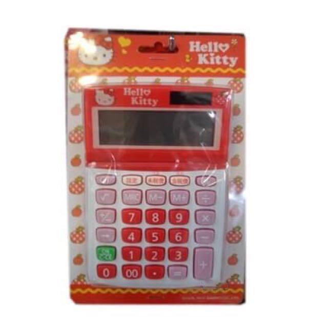 三麗鷗HELLO KITTY凱蒂貓發票用款加稅型計算機