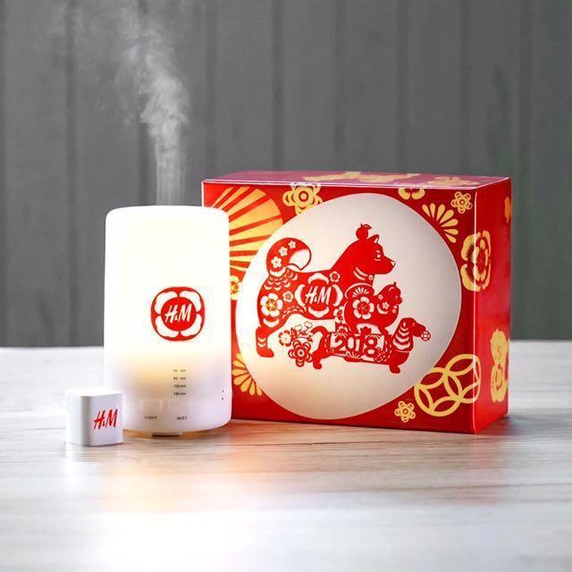 H&M🌸新年禮盒 迷你香氛機及藍芽喇叭一組 💕