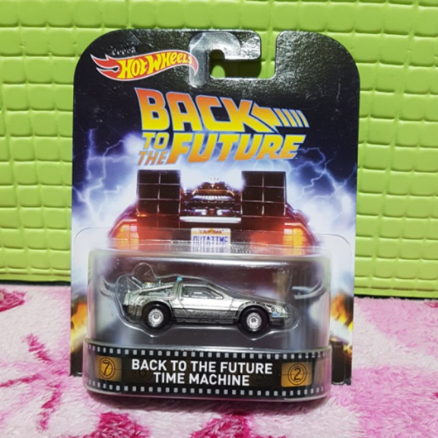 Hot Wheels Retro Series Back To The Future Time Machine