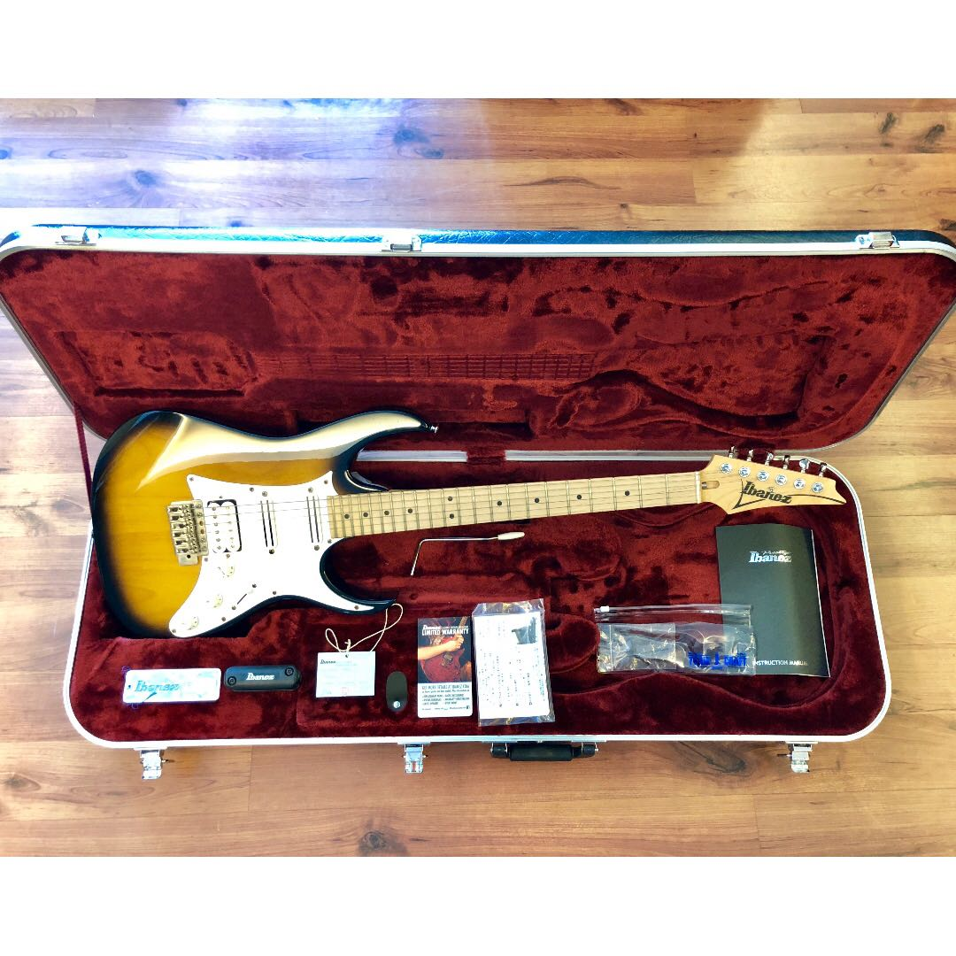 Ibanez At100cl Andy Timmons Signature Sunburst Japan Music At10p Wiring Diagram Media Instruments On Carousell