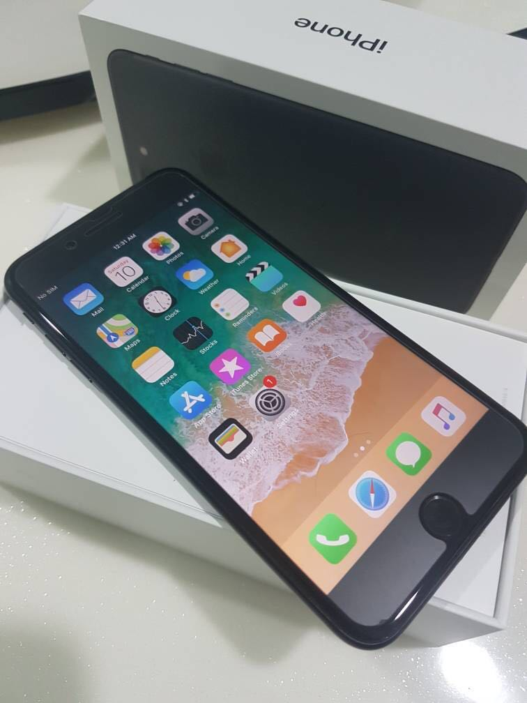 Iphone 7 plus 128gb Matt Blk