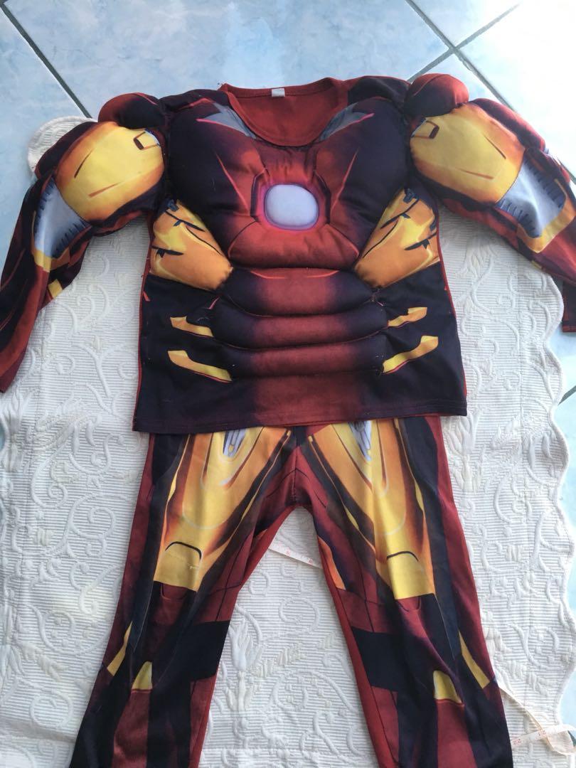 Ironman Muscle Costume