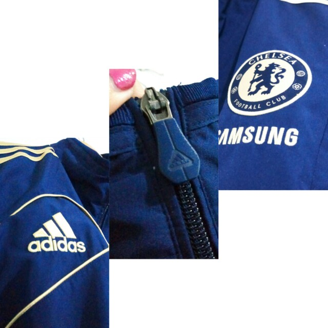 JACKET ADIDAS JERSEY CHELSEA ORIGINAL AUTHENTIC