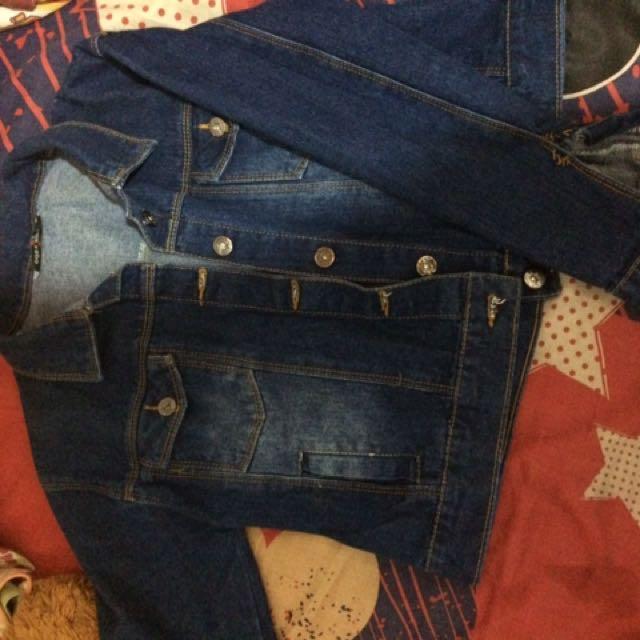 jaket jeans ADA fashion (BU)