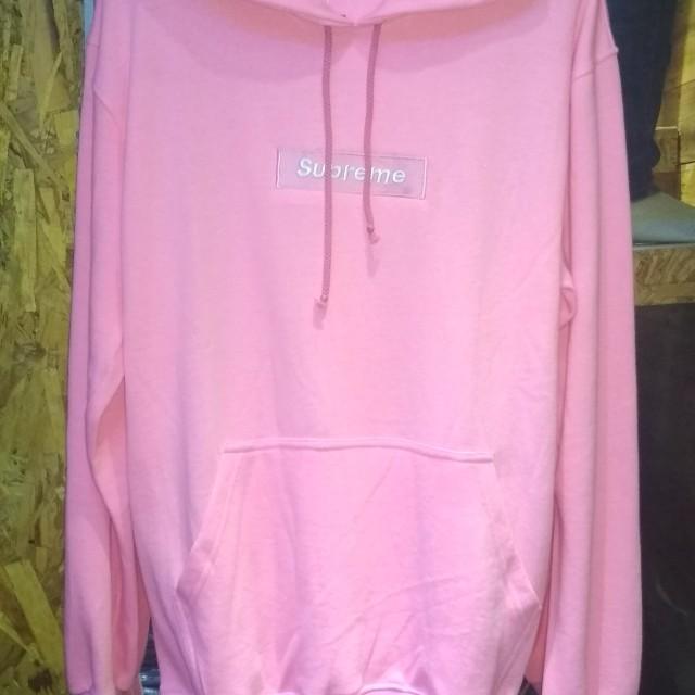 Jaket sweater hoodie - pink