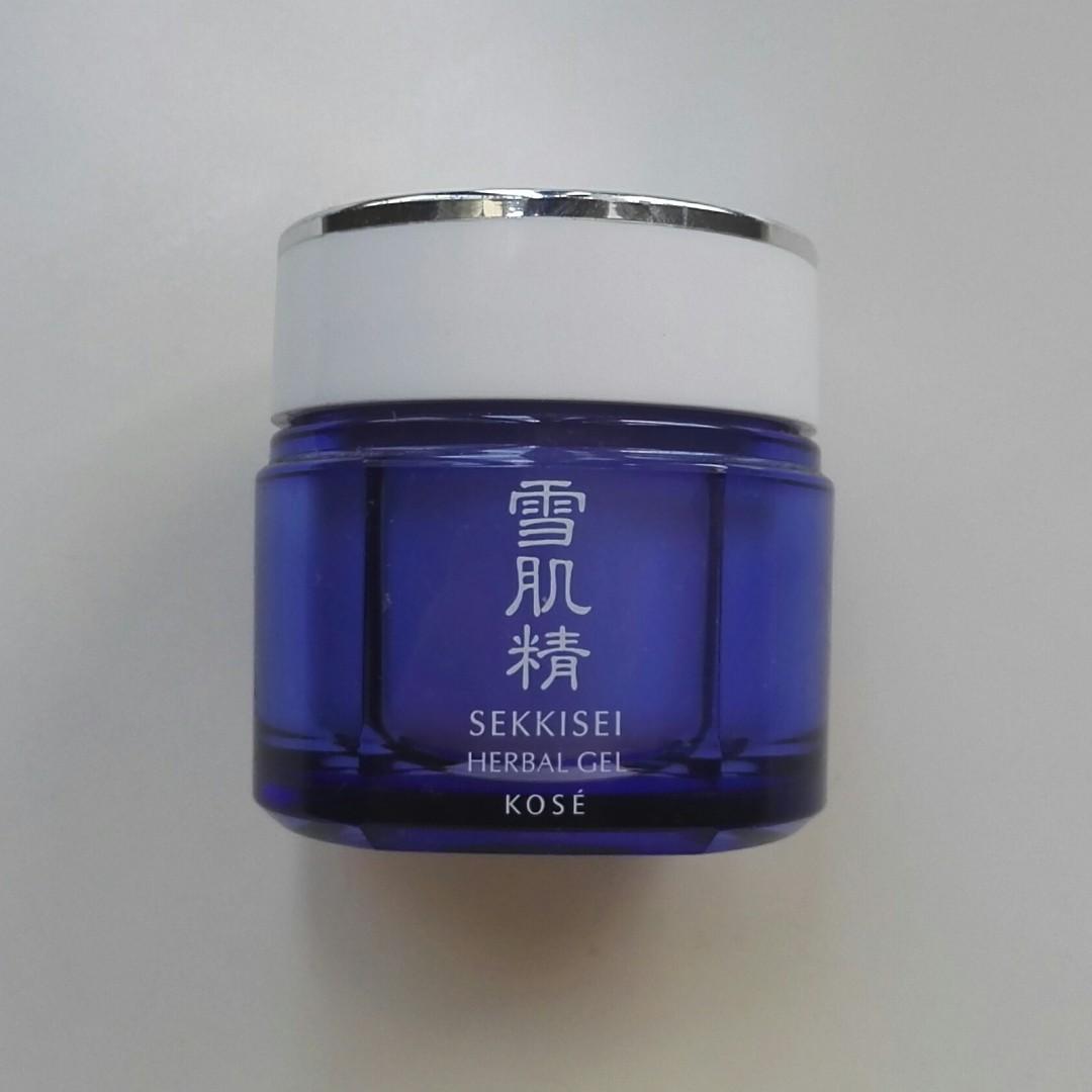 Kose Sekkisei Herbal Gel Health Beauty Skin Bath Body On Whitening Cream Jepang Photo