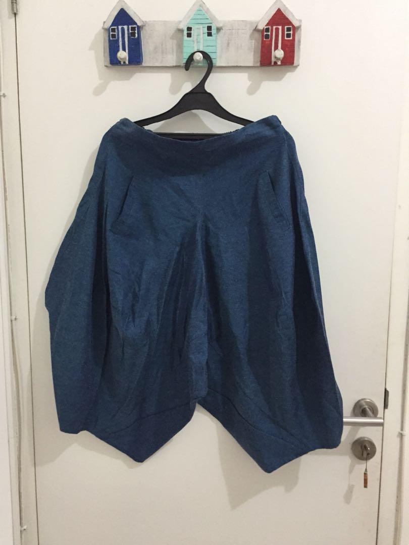 Kulot Blue Pants
