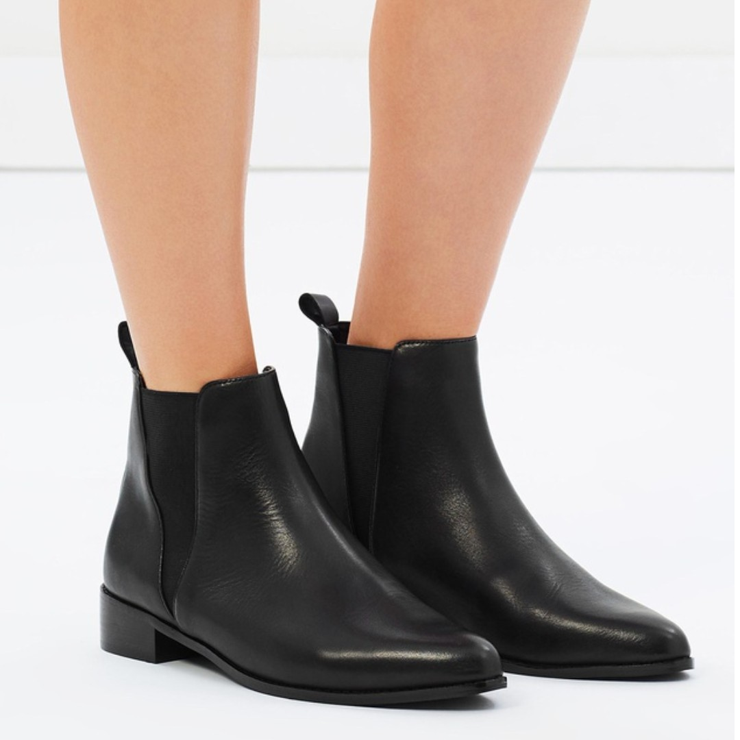 Leather Ankle Boots size 7
