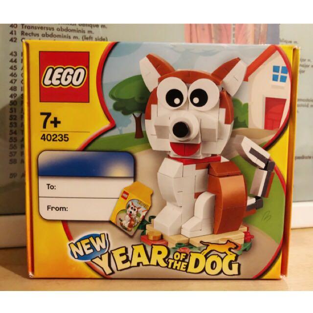 LEGO 40235 new year of the dog 樂高 狗年 禮盒 🐶 狗狗 全新 盒裝未拆 積木 代友售