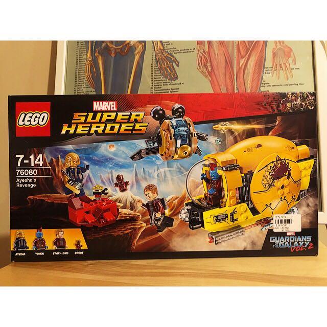 LEGO 76080 marvel super heroes 樂高 星際異攻隊 漫威 全新 盒裝 公司貨 (代友售)
