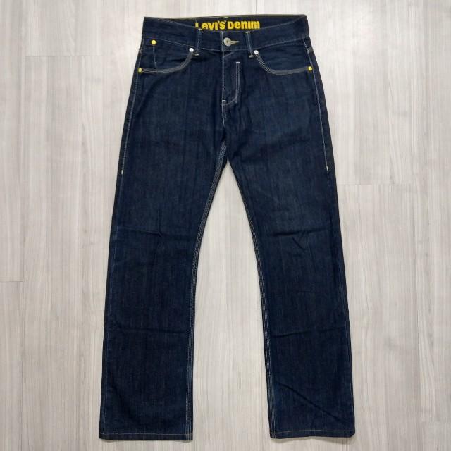 Levi's levis FS523-0003 w30 L34 深色直筒牛仔褲 523 512 534
